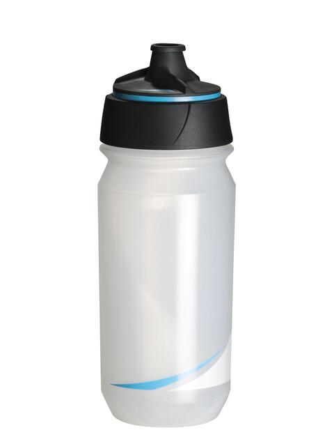 Tacx Shanti Twist Trinkflasche 500ml transparent/blau